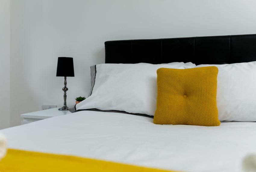 Bedside lamp left